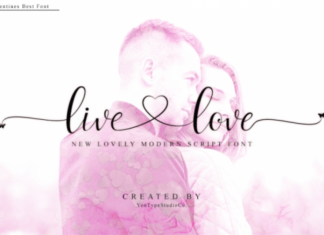Live Love Calligraphy Font