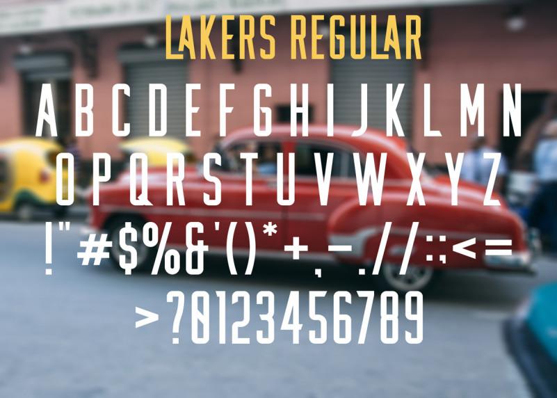 Lakers Free Font