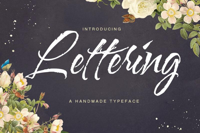 Lettering Script Font Befonts Com