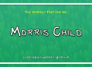 Morris Child Font