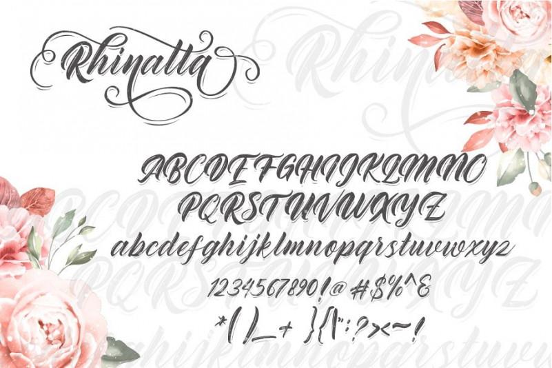 Rhinatta Font Demo