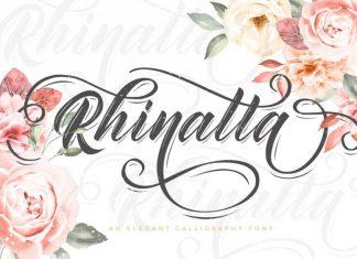 Rhinatta Script Font Demo