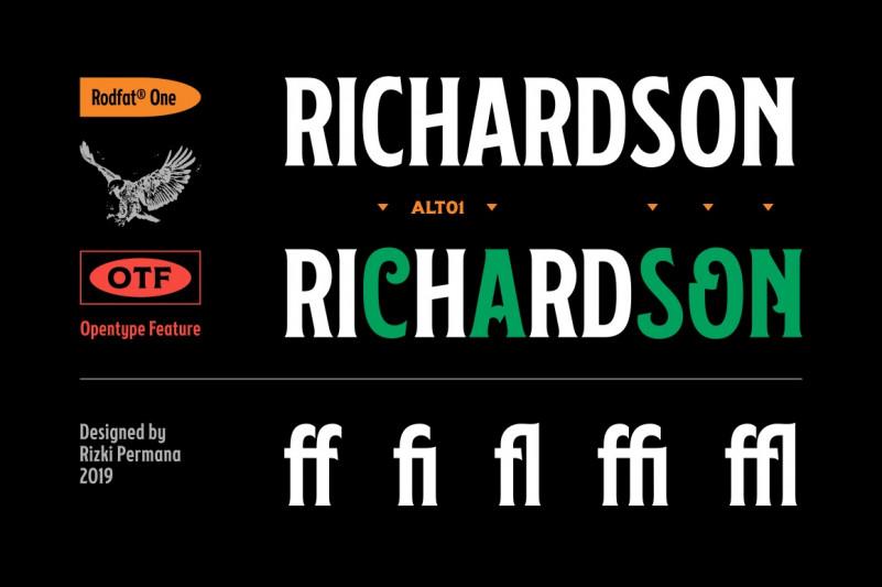 Rodfat Font