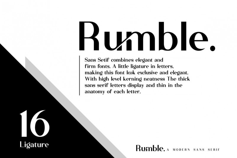 Rumble Font