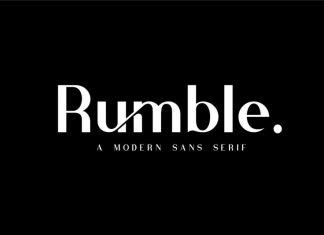 Rumble Modern Sans Font