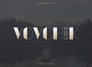 Vovchik Serfi Font