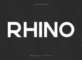 Rhino Bold Font