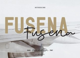 Fusena - Duos Handwritten Font
