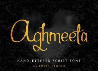 Aghmeeta Script Font