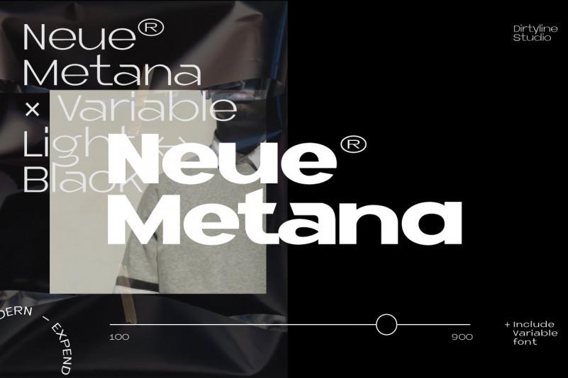 Neue Metana Font Family