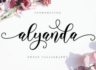 Alyanda Script Font