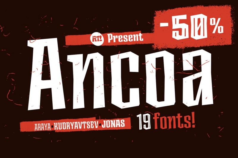 Ancoa Font Family