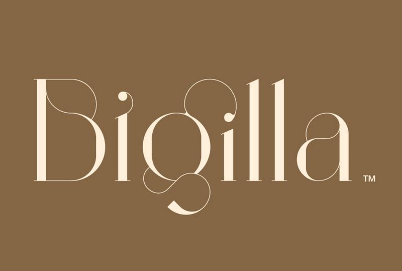 Bigilla™ Display Font