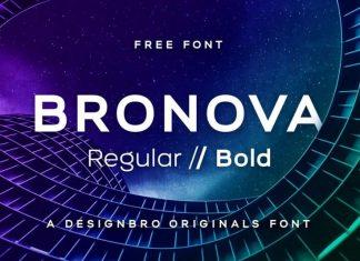 Bronova Sans Font