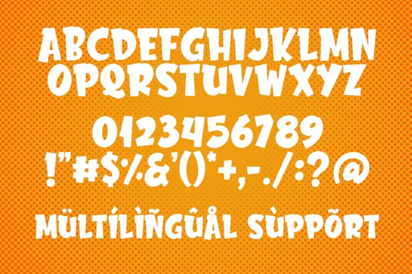Chester Network - Comic Font