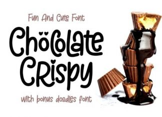 Chöcolate Crispy - Fun and Cute Font