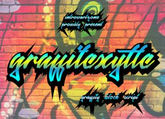 Graffitexytte graffiti Font