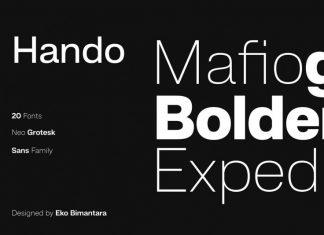 Hando Sans Font Family