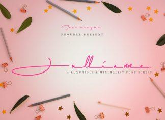 Jullianne Script Font