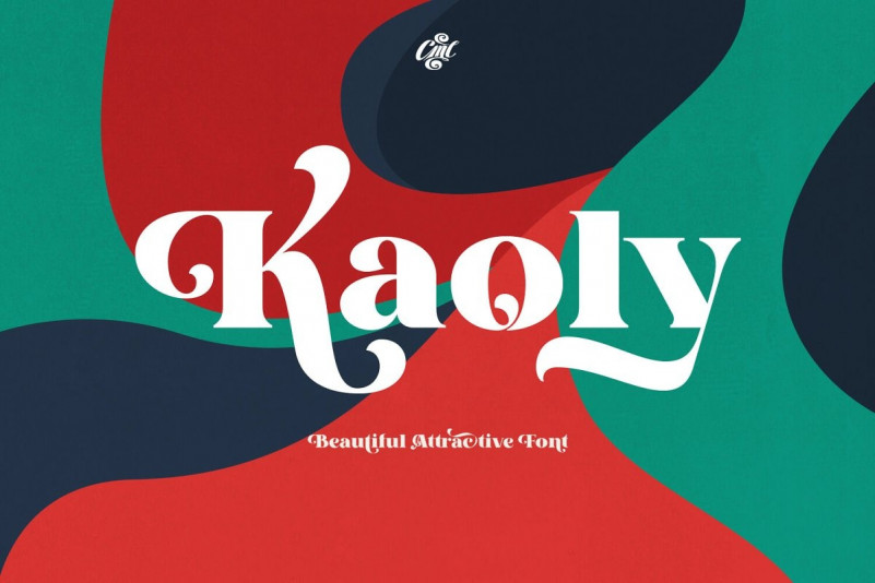 Kaoly - Bold Serif Font