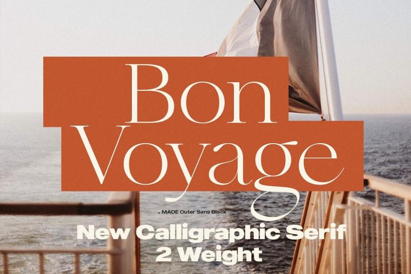 MADE Bon Voyage Serif Font