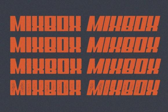 MixBox Font Family