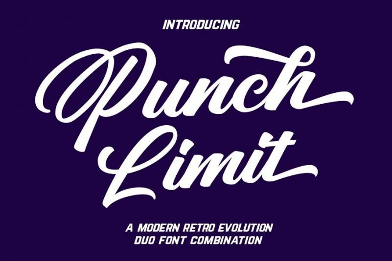 Punch Limit Font