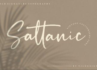 Sattanic Script Font