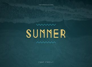 Summer Display Font