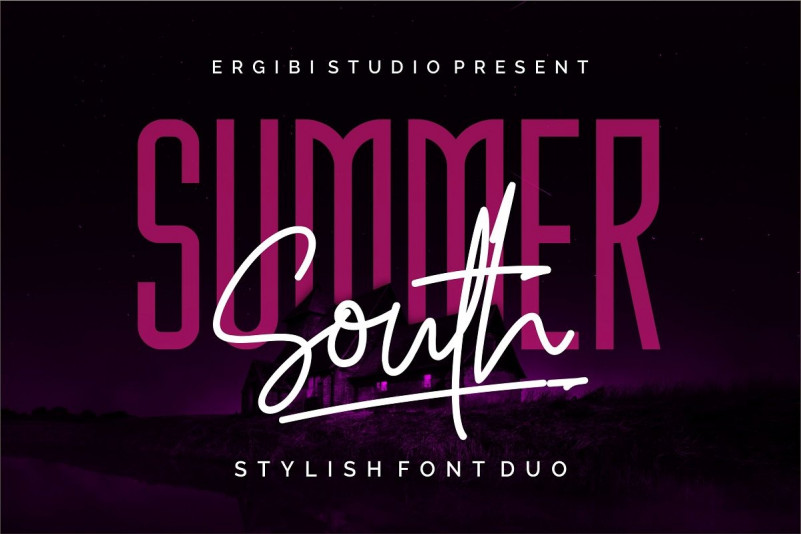 Summer South Font Duo