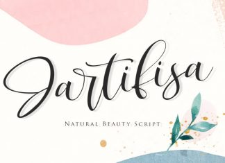 Jartifisa Script Font
