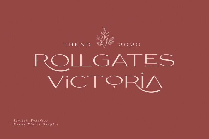 Rollgates Victoria Font