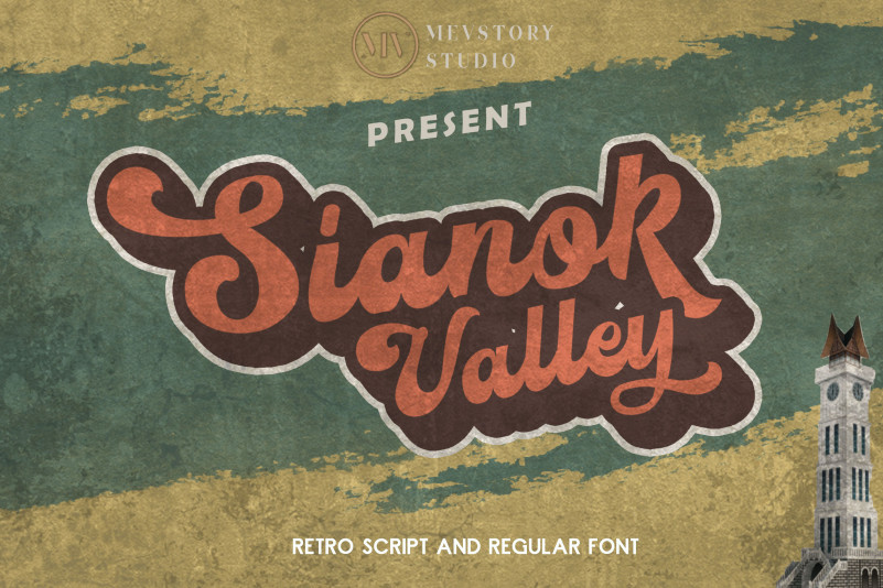 Sianok Valley Retro Font