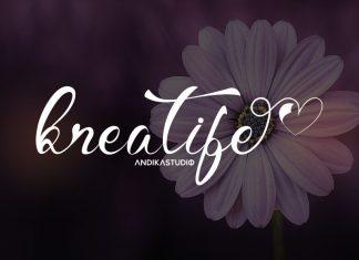 Kreatife Script Font