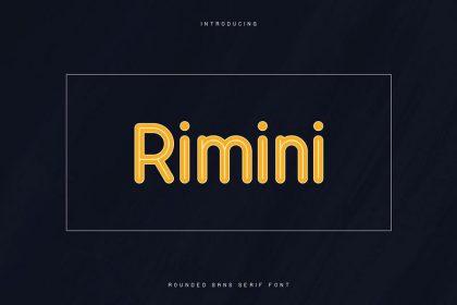 Rimini Sans Serif Font