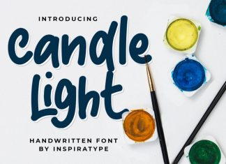 Candle Light - Handwritten Font