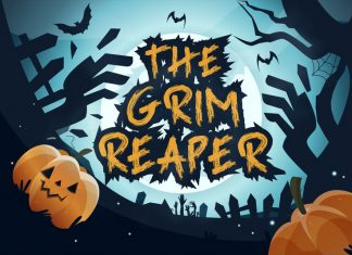 Grim Reaper - Handbrush Font