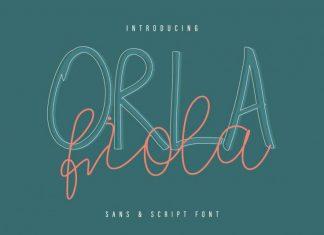 Orla Fiola Font Duo