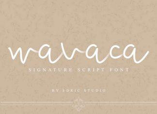 Wavaca Script Font