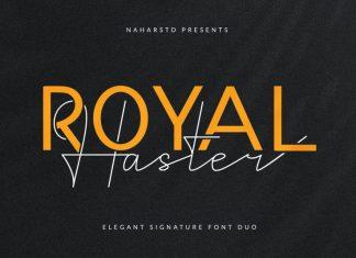 Royal Haster Font Duo
