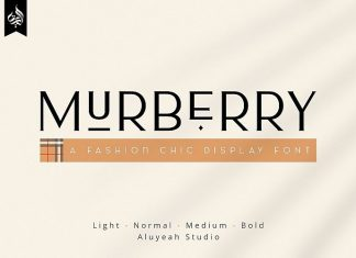 AL Murberry Display Font