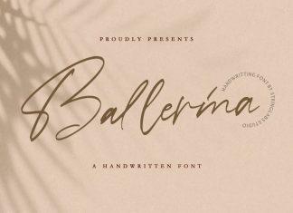 Ballerina Script Font