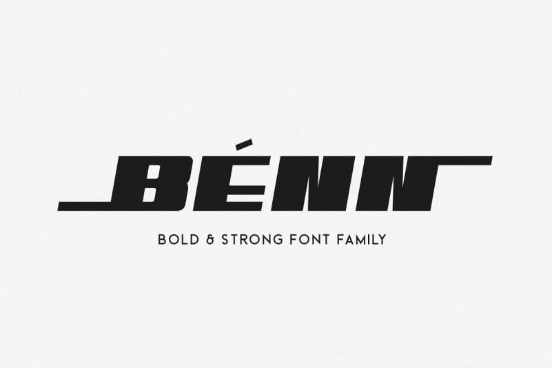 Benn Font Family