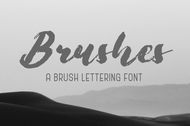 Brushes Brush Font