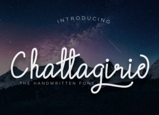 Chattagirie - Handwritten Font