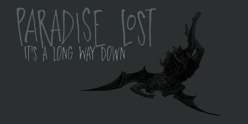 DK Paradise Lost Font