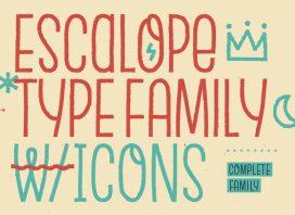Escalope Font Family