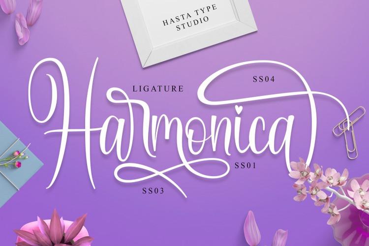 Harmonica Font