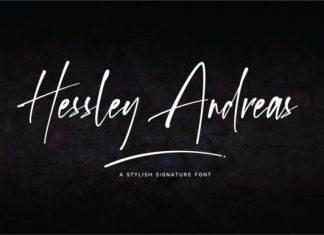 Hessley Andreas Script Font