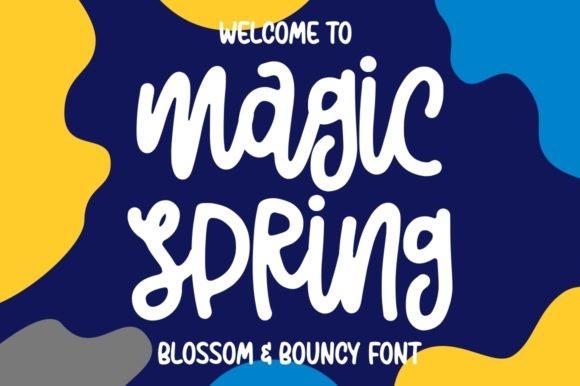 Magic Spring Script Font